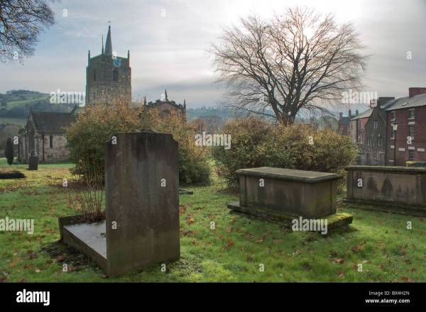 St. Mary's Church and churchyard, Wirksworth, Derbyshire ...