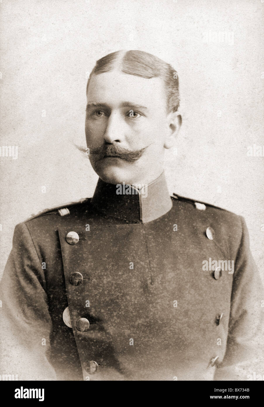 Military Germany Prussia Army Officer Cabinet Card By