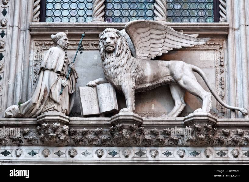 Lion Of St Mark Statue Full Hd Pictures 4k Ultra Full Wallpapers