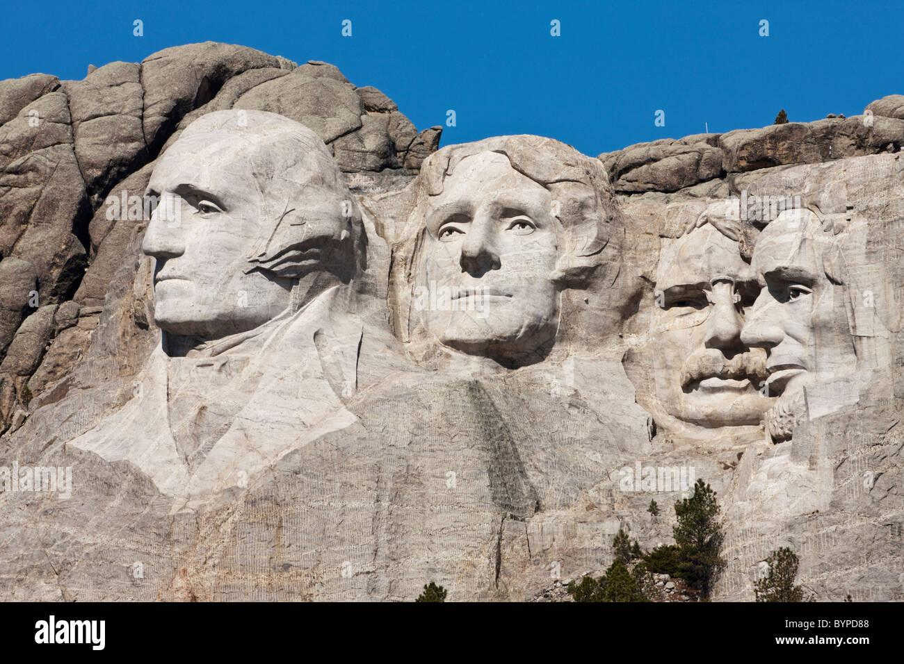 Usa South Dakota Mount Rushmore National Monument Faces