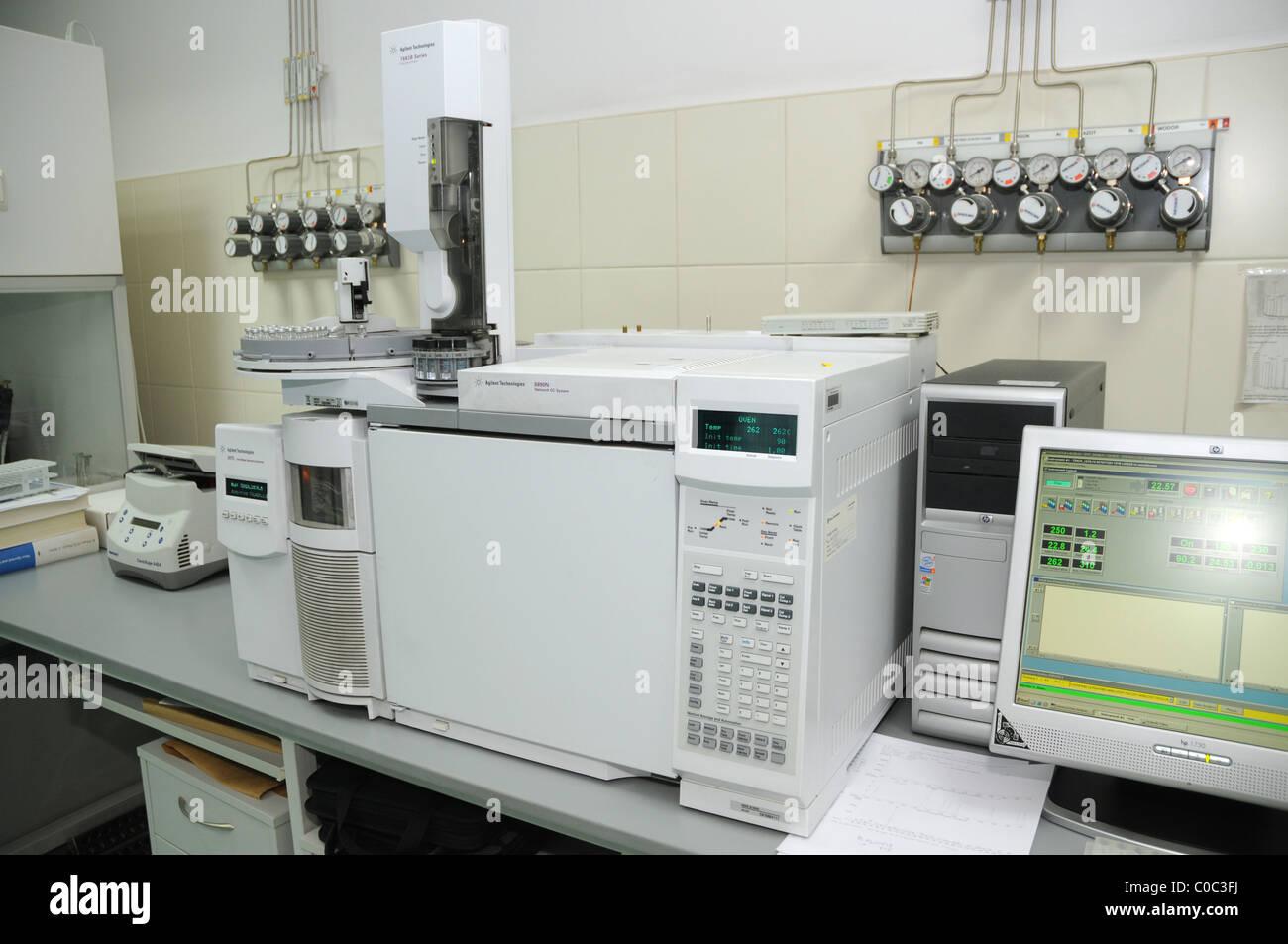 Gas Chromatography Stock Photos Amp Gas Chromatography Stock