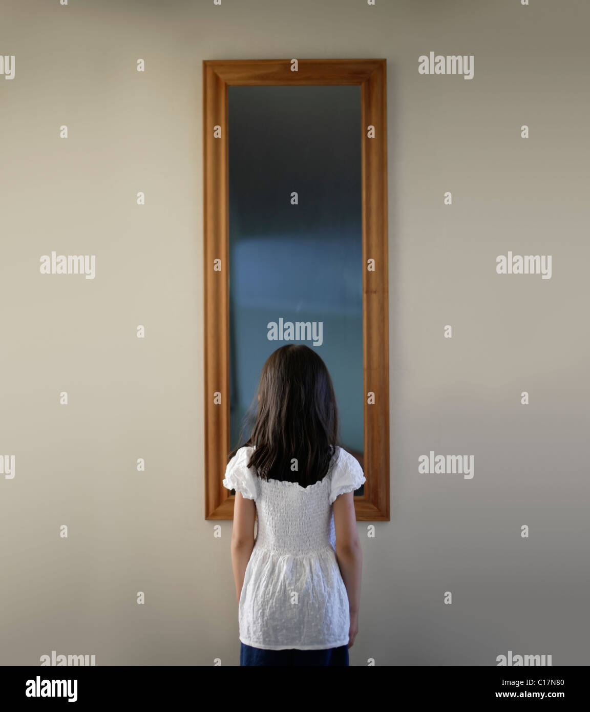 Mirror Mirror On The Wall Stock Photo Alamy
