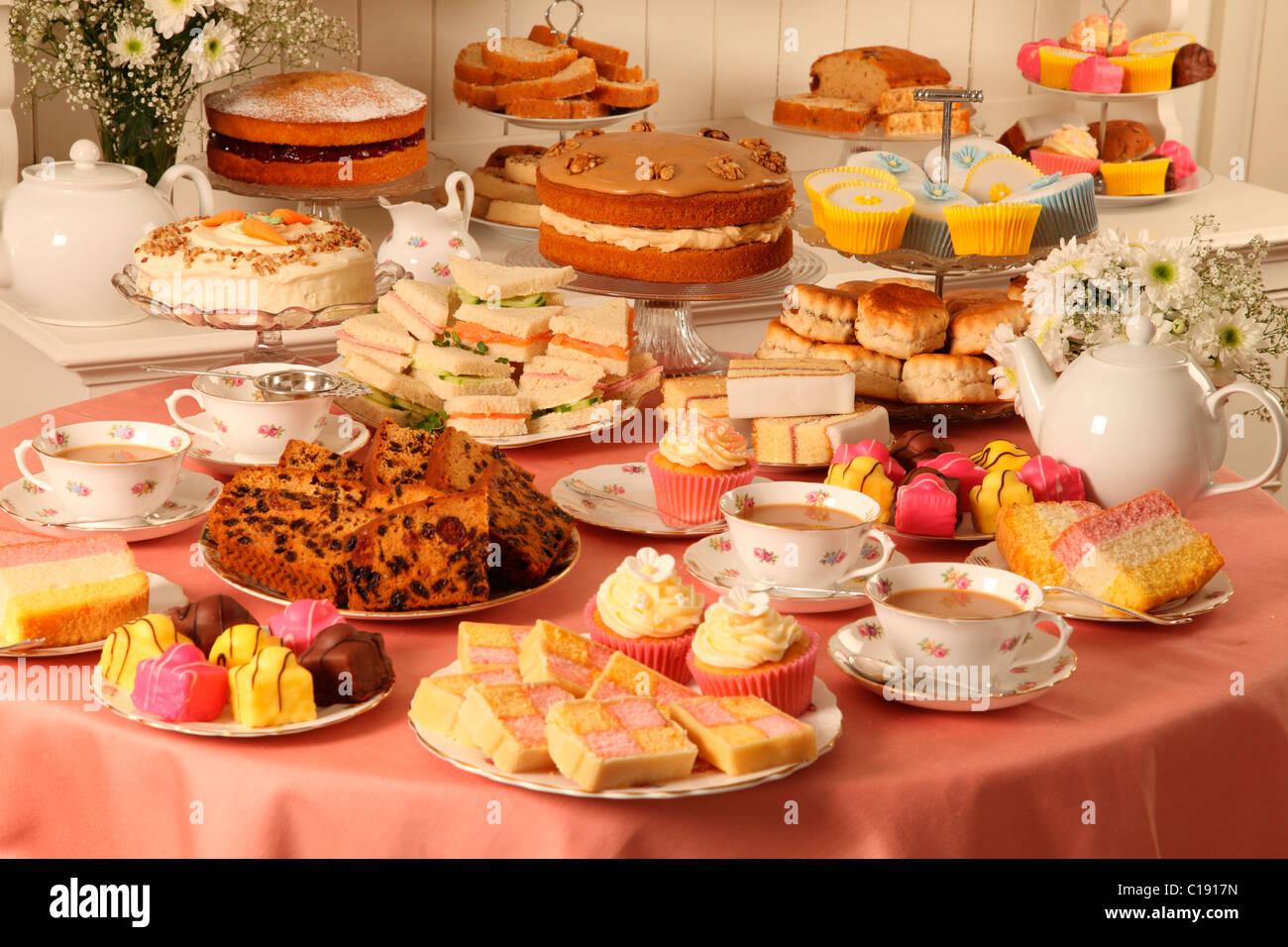 Vintage Tea Party Cakes