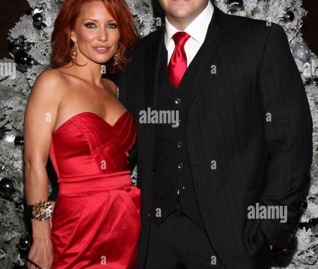 Jennifer Korbin And Brian Wallos Bench Warmer Trading Cards Holiday Gala And Toy Drive For Toys For Tots At Empire Hollywood