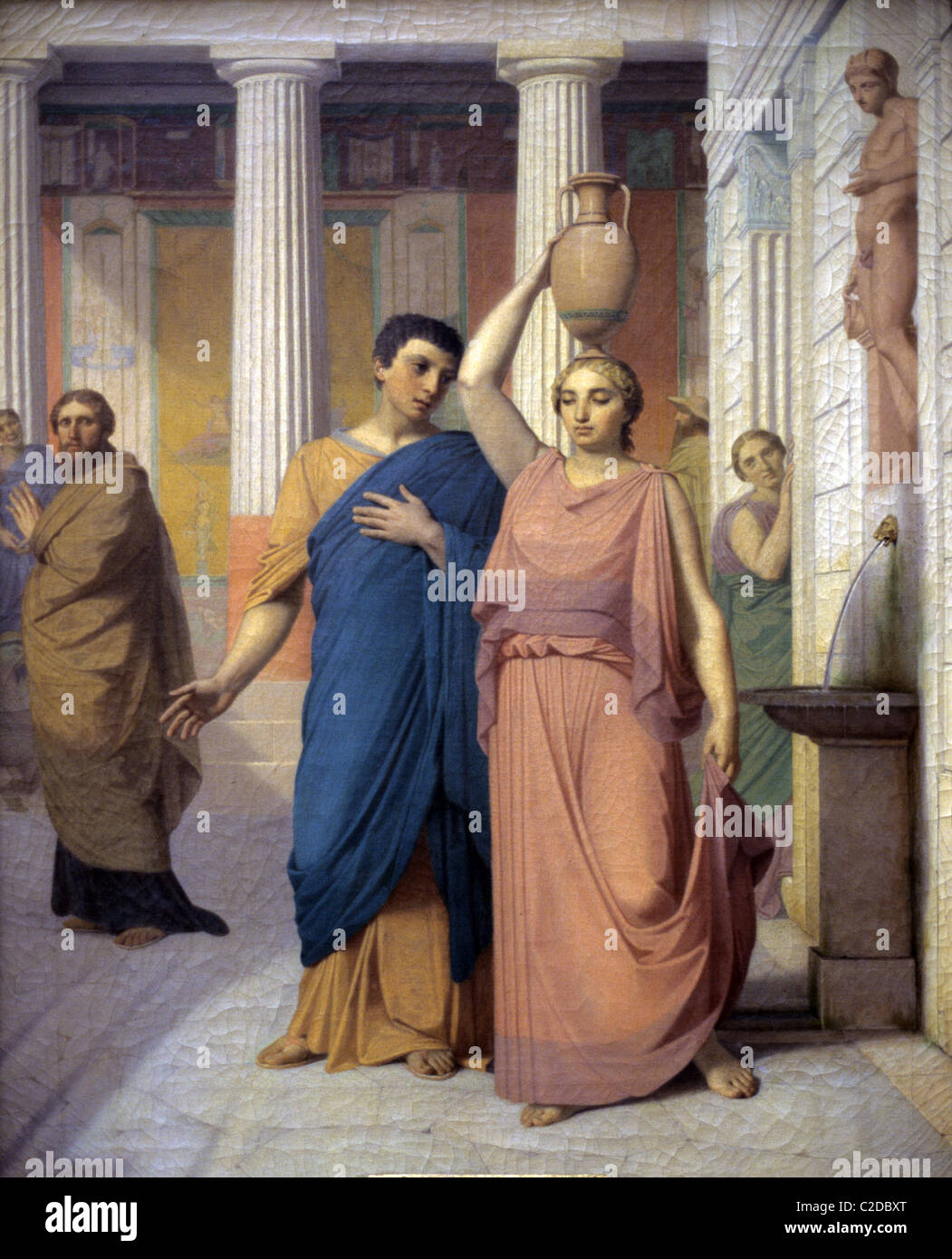 Daily Life In Ancient Rome Or Domestic Scene Romans