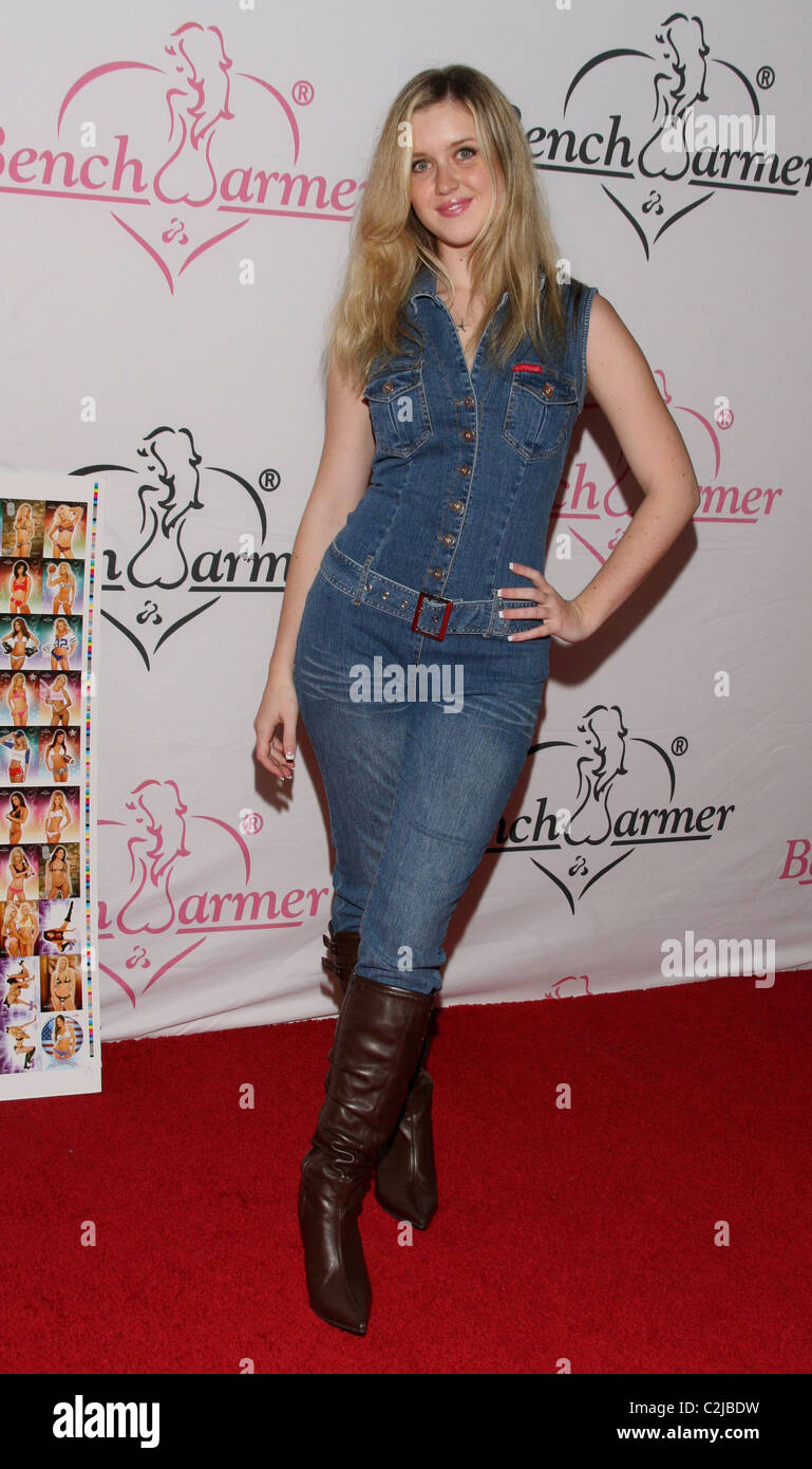Brittney bomann's films include beings, the last leprechaun, the little unicorn. Brittney Bomann Bench Warmer Trading Cards Valentine S Day Party At Area Los Angeles California 12 02 08 Rachel Worth Stock Photo Alamy