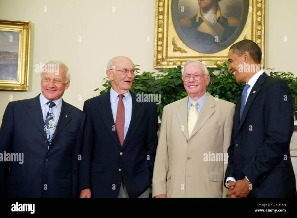 Buzz Aldrin Michael Collins Neil Stock Photos Buzz