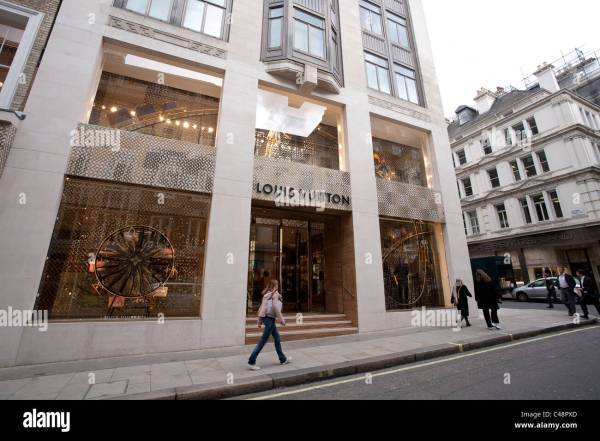Louis Vuitton flagship store in Bond Street, Central ...