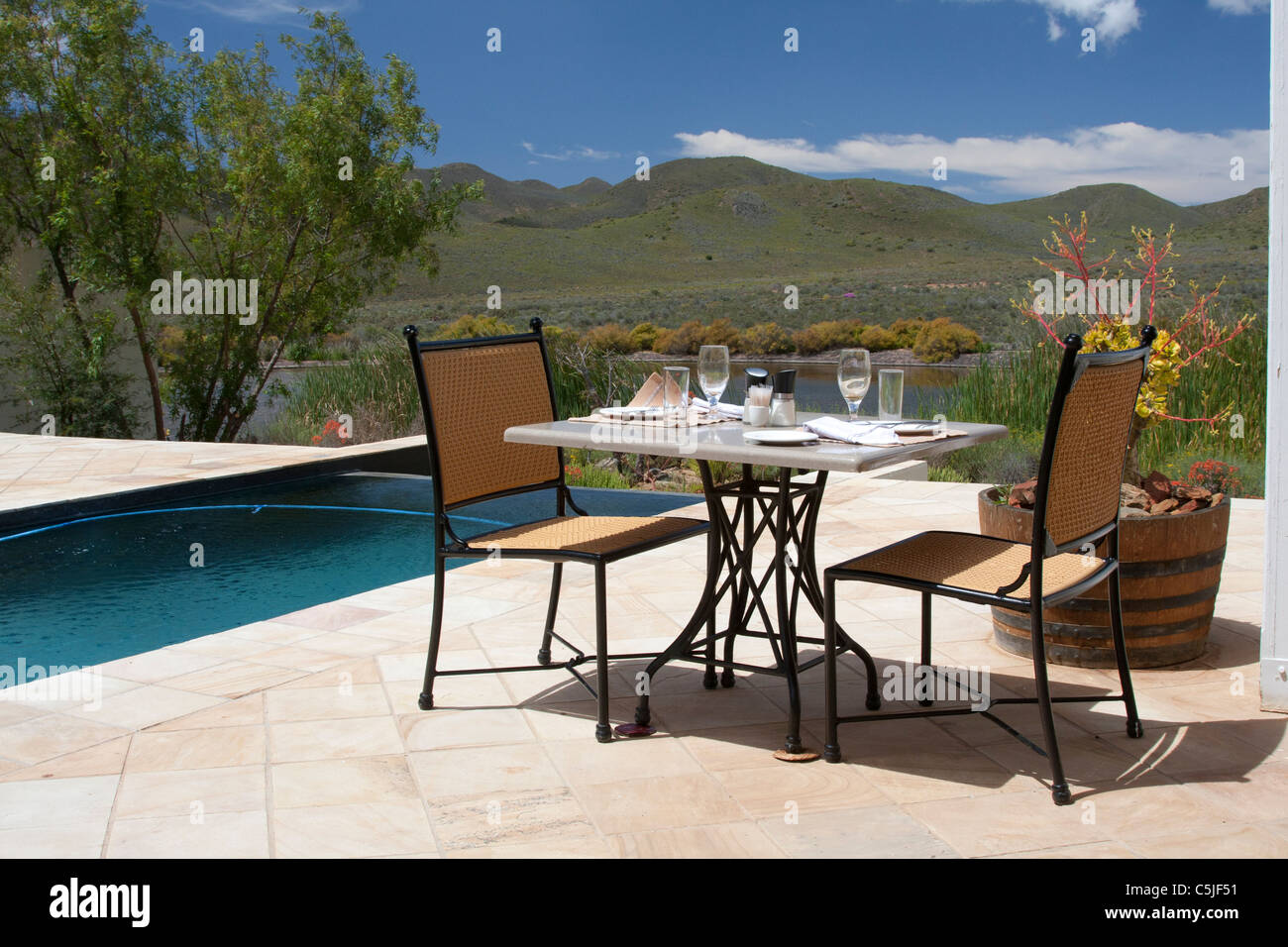 https www alamy com stock photo swimming pool in sambona game reserve south africa 37901053 html