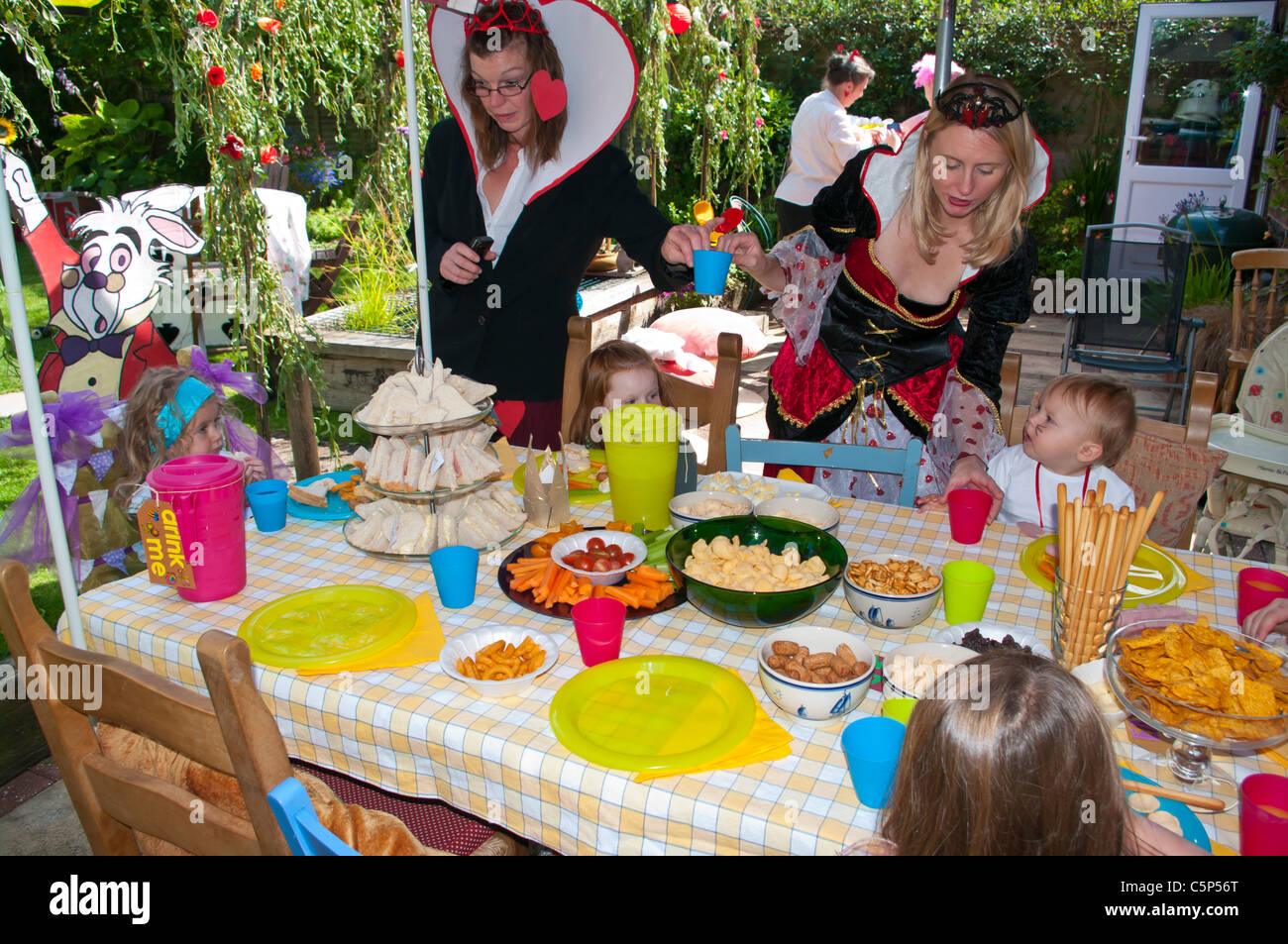 Childs Tea Party Stock Photos Amp Childs Tea Party Stock