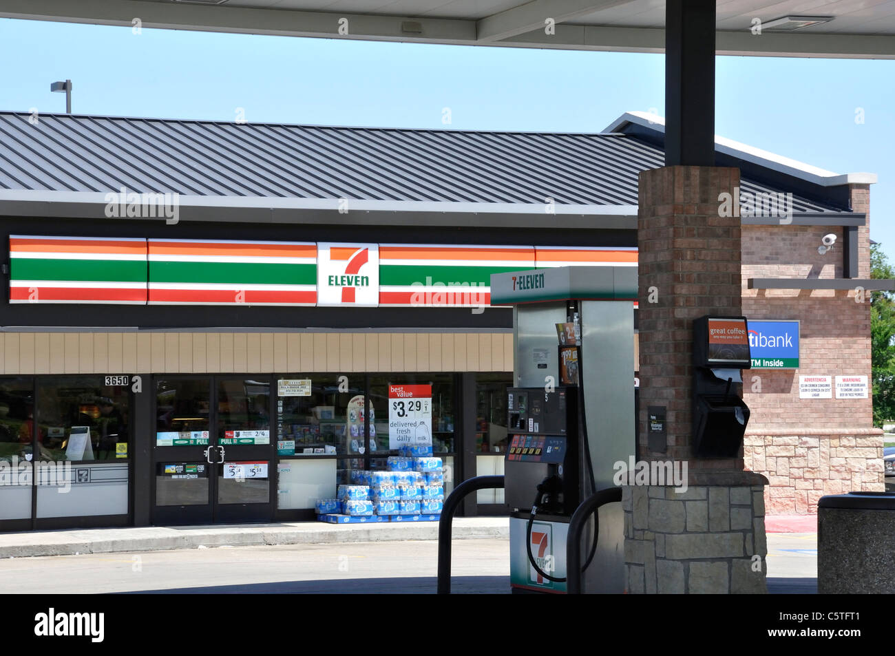 7 Eleven Gas Gas Station Stock Photos Amp 7 Eleven Gas Gas