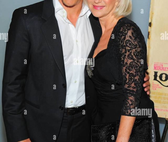 Sergio Peris Mencheta Helen Mirren At Arrivals For Love Ranch V I P Screening Dolby Screening Room New York Ny June