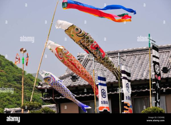 Kodomo no hi or children's day is a Japanese national ...
