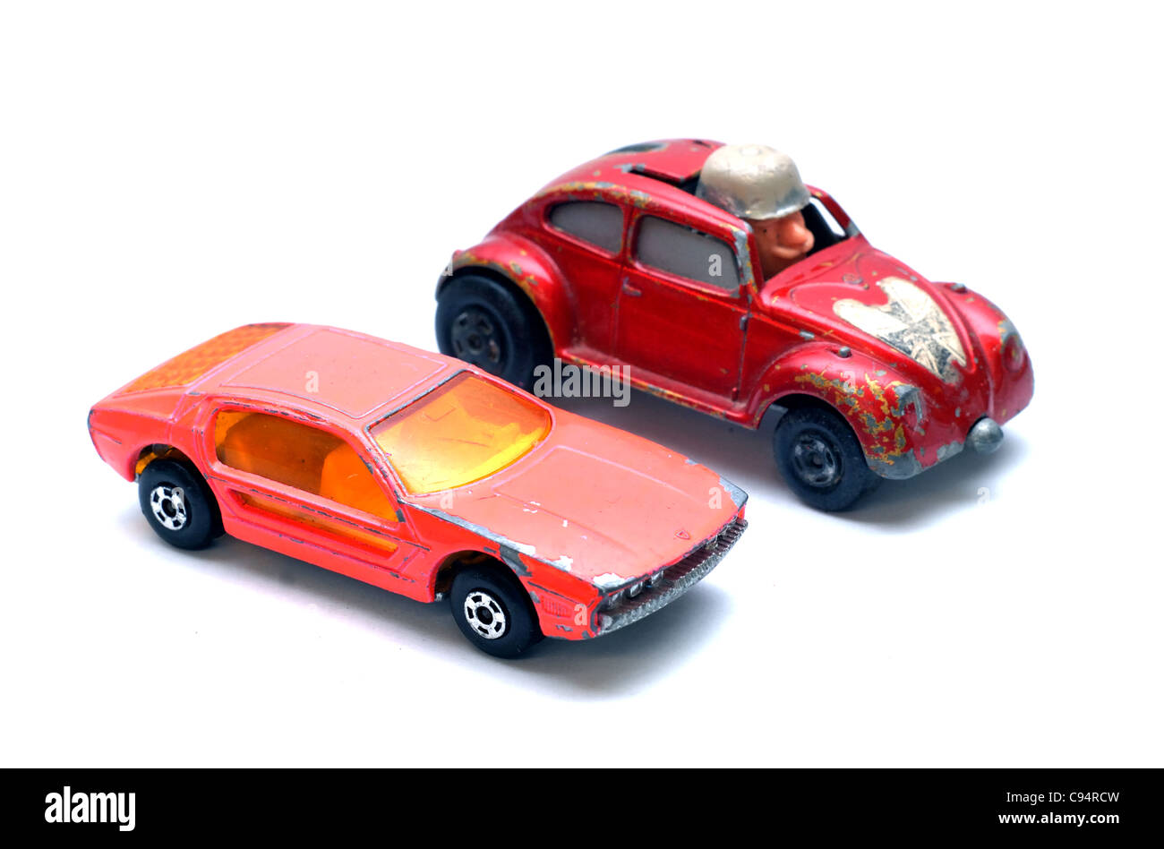 Old Toy Cars From The S Stock Photo