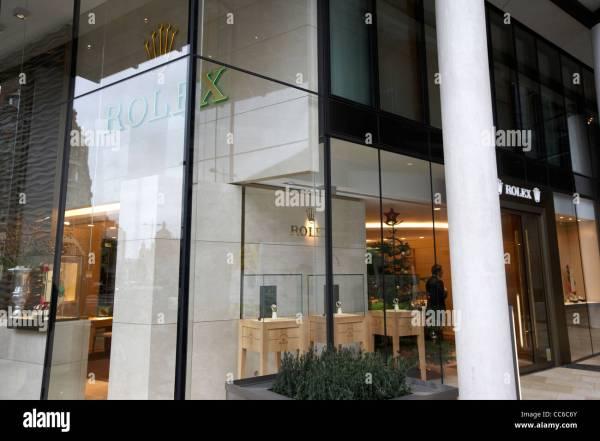rolex watch store in one hyde park Knightsbridge London ...