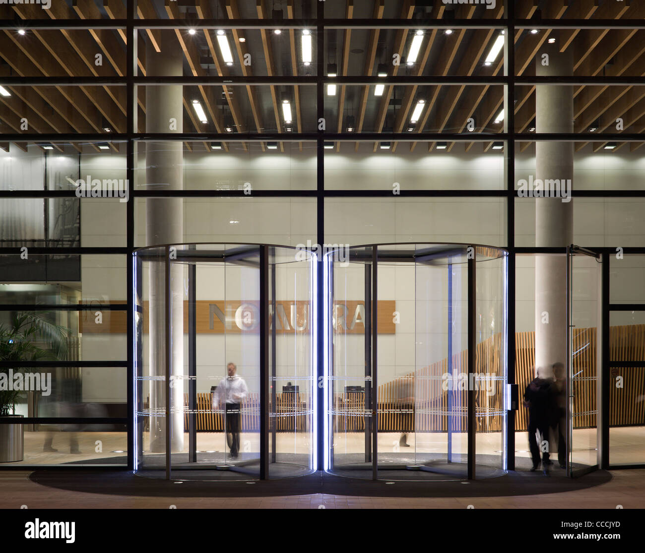 https www alamy com stock photo office entrance lobby to watermark place occupied by nomura architecture 42074913 html