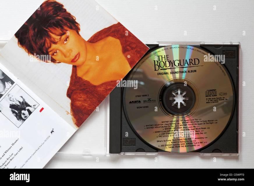 Whitney Houston The Bodyguard original soundtrack album CD ...