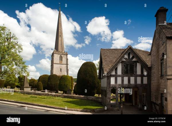 UK, Gloucestershire, Stroud, Painswick, St Mary's Parish ...