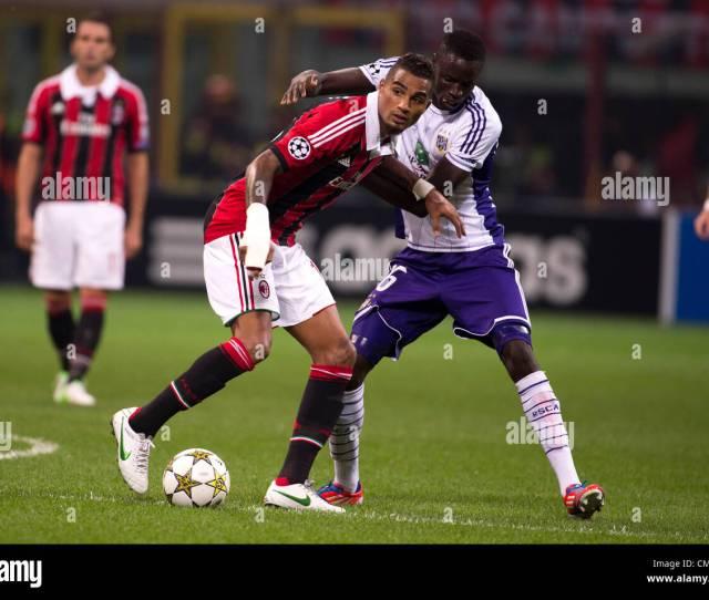 Kevin Prince Boateng Milan Cheikhou Kouyate Anderlecht September