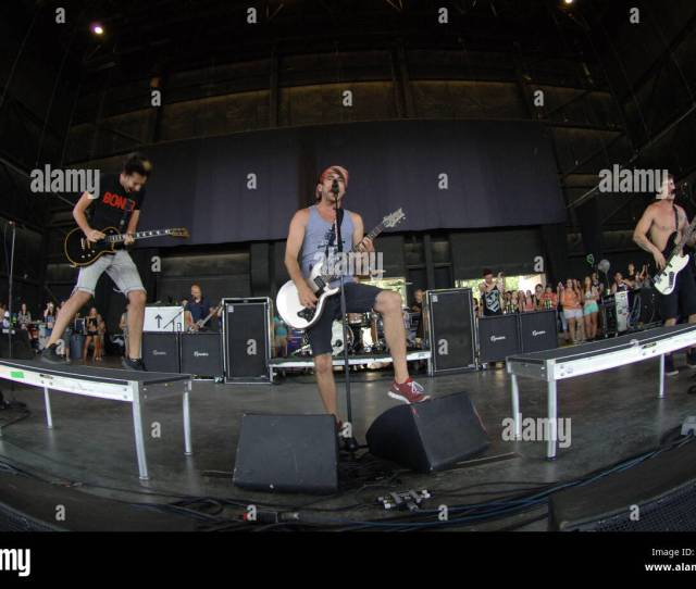 Vans Warp Tour 2012 Features All Time Low Whose Pop Punk Alternative Gets The Crowd Moving Vans Warp Tour 2012 Lands In Virginia Beach Virginia At The