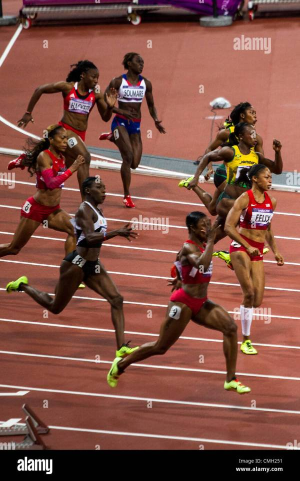 Olympics 2012 Running Track Lanes Stock Photos & Olympics ...