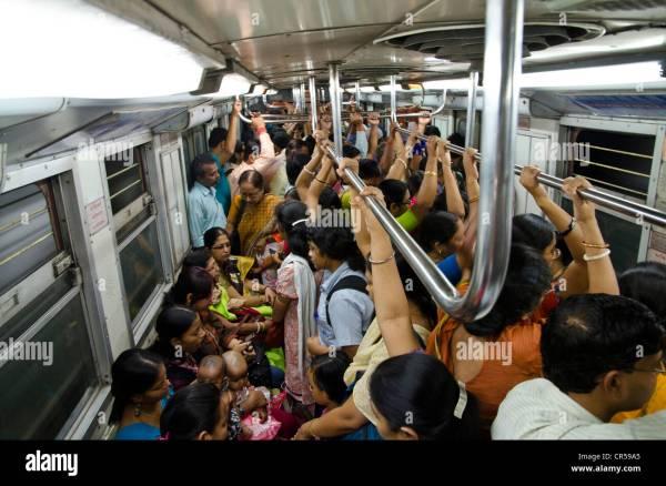 Crowded subway, Indias first subway, Kolkata, West Bengal ...