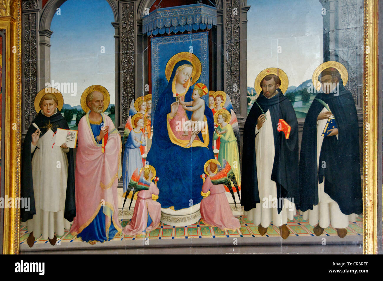 Fra Altarpiece Angelico Florence San Marco