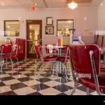 Restaurant Decor From The 1950s Era In The Southern Flyer Restaurant Stock Photo Alamy