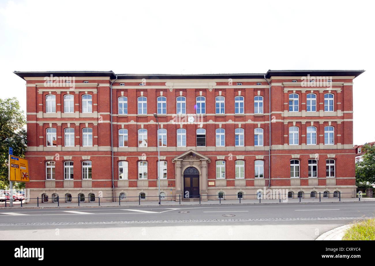 Goethe Gymnasium A High School Ilmenau Thuringia