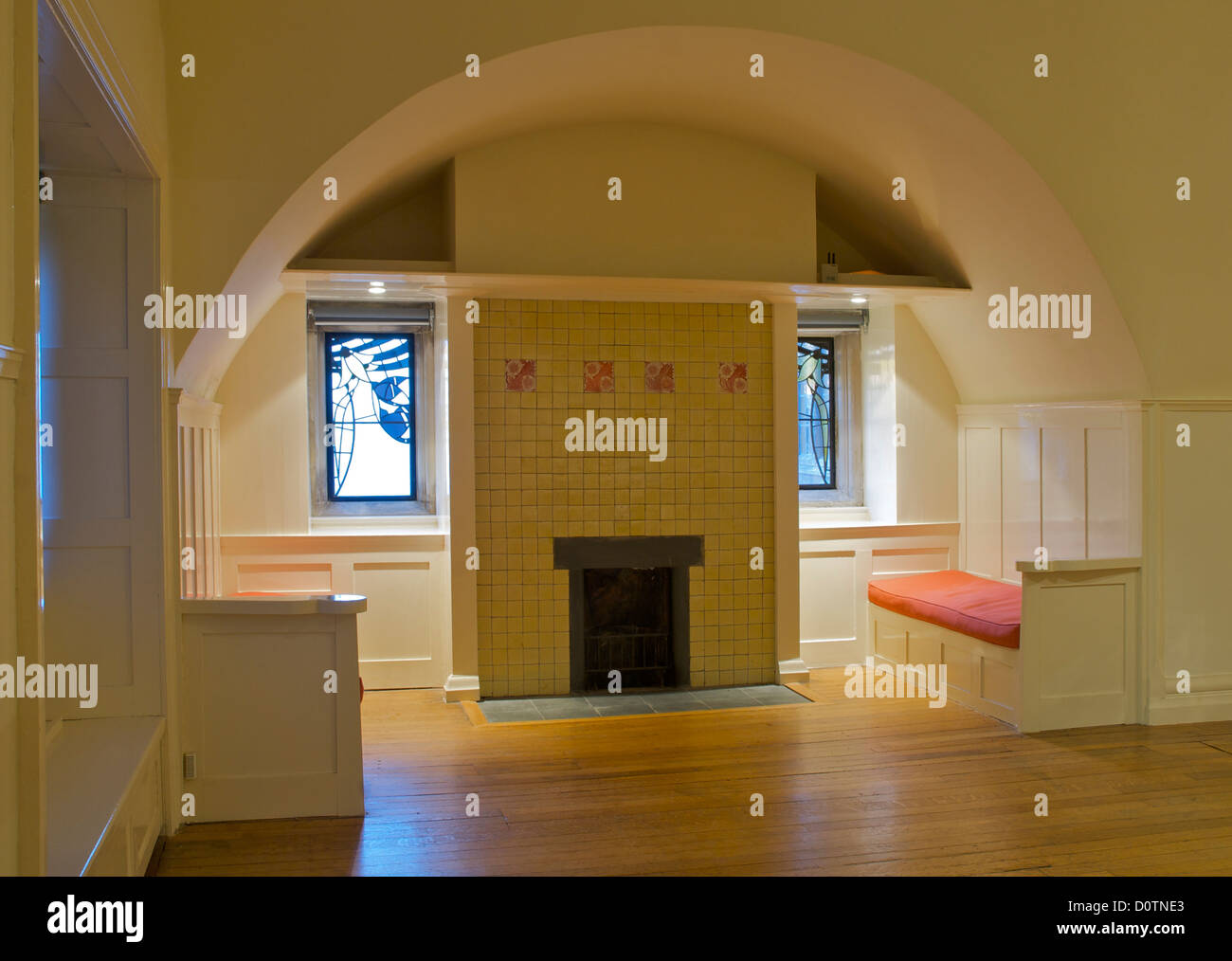 Fireplace In Blackwell Arts And Crafts House