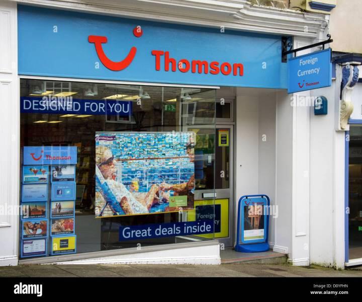 Thompson Travel Uk: Thomson Travel Agents Torquay