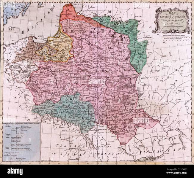 Map 1775 Stock Photos   Map 1775 Stock Images   Alamy MAP Map of the Kingdom of Poland   and the Grand Dutchy of Lithuania  circa