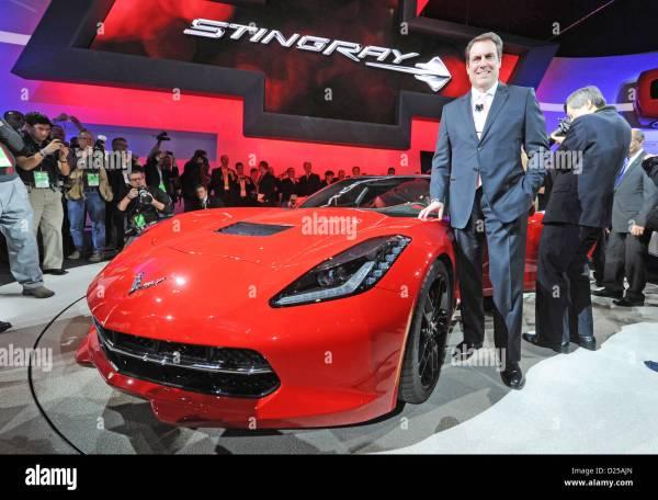President Of General Motors (gm) north America Mark Reuss ...