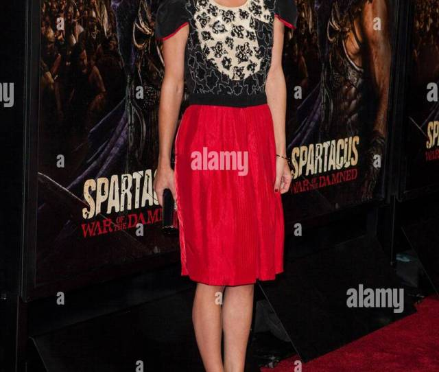 Gwendoline Taylor At Arrivals For Spartacus War Of The Damned Season Premiere Regal Cinemas L A Live Los Angeles Ca January