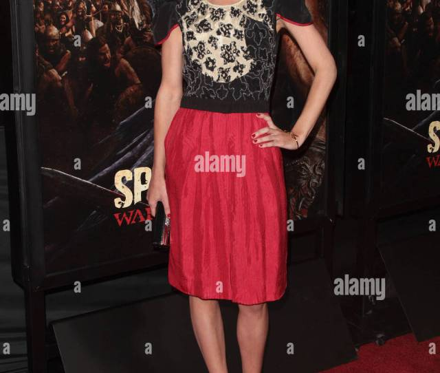 Gwendoline Taylor Premiere Of Spartacus War Of The Damned Los Angeles California Usa