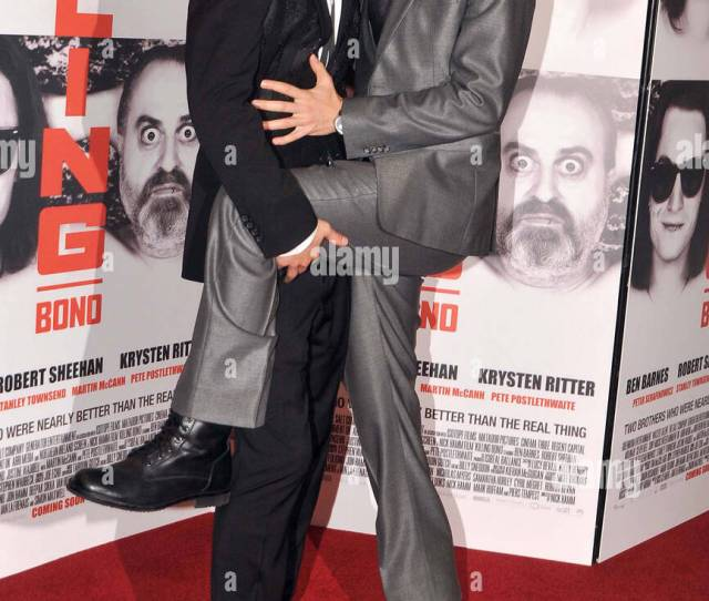 Robert Sheehan And Ben Barnes The Premiere Of Killing Bono Held At The Savoy Cinema Dublin Ireland