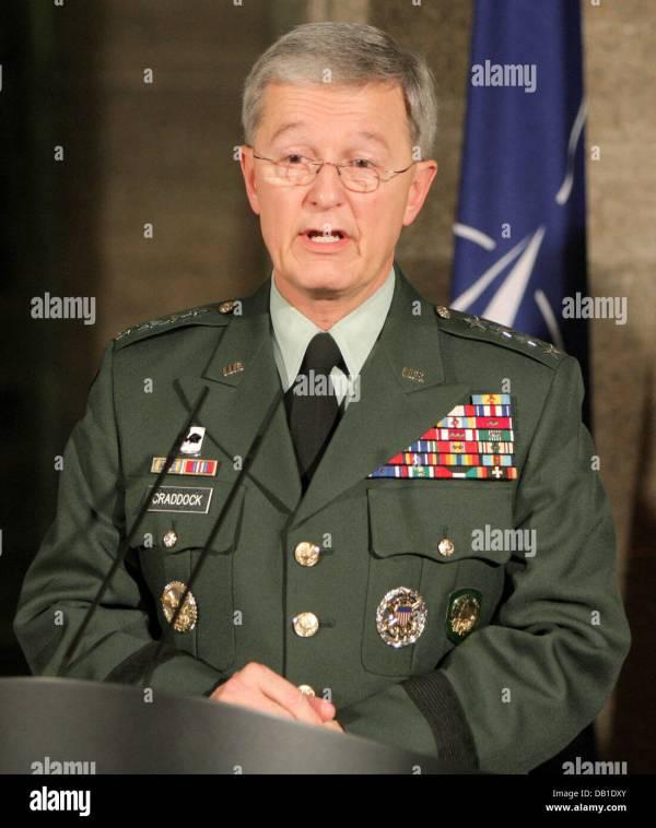 NATO Supreme Allied Commander Europe, General Bantz John ...