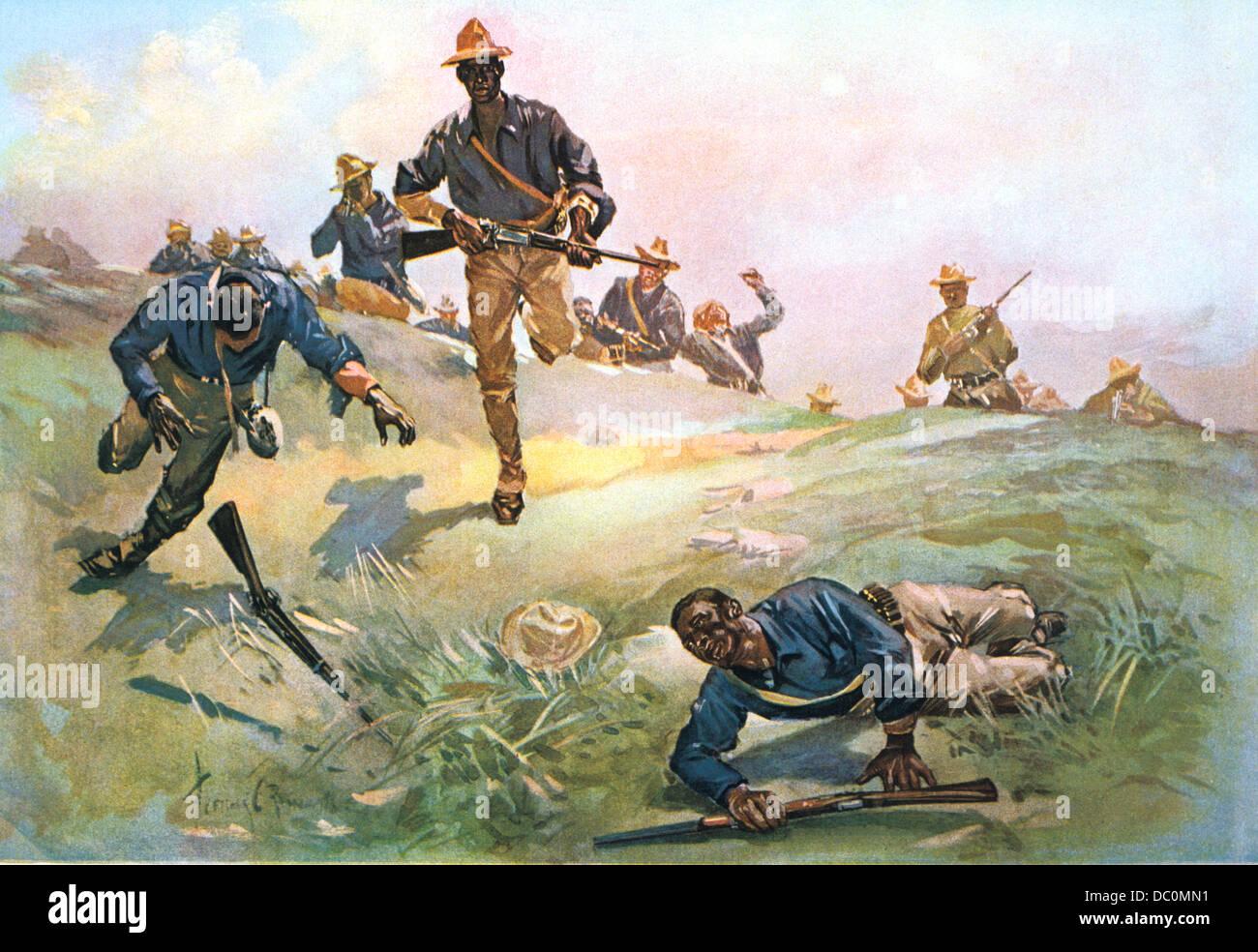 Spanish American War Troop C Ninth Cavalry Captain