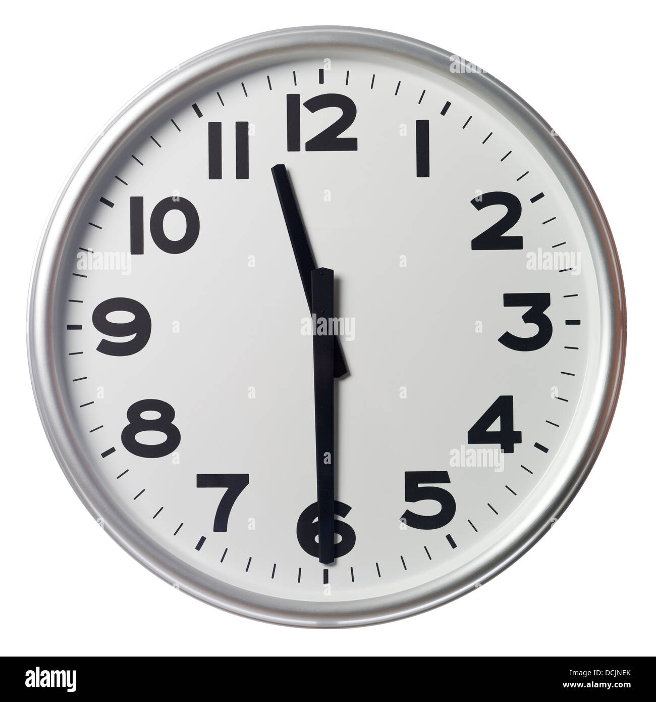 Half Past Eleven Stock Photo Royalty Free Image
