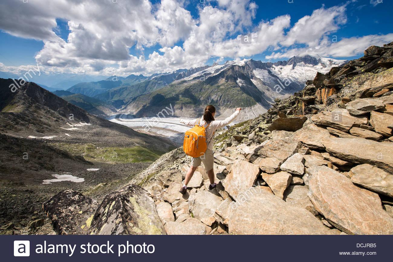 Saas Fee Hiking