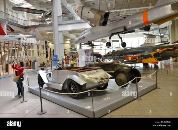 Germany Bavaria Munich Deutsches Museum science museum ...