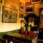 Retro Cafe Interior Stock Photo Alamy