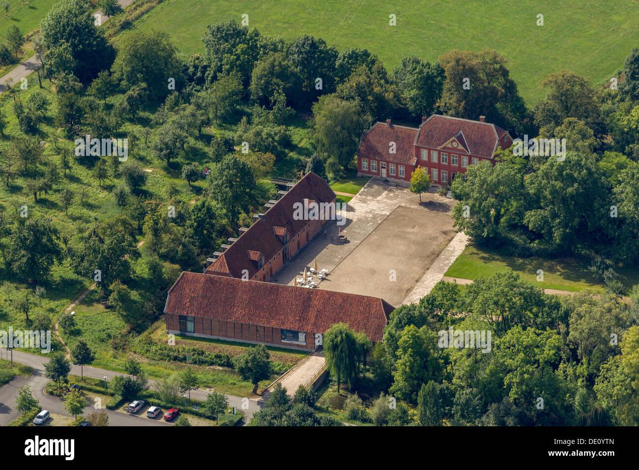 https www alamy com aerial view haus nottbeck rheda wiedenbrueck soester boerde north image60258149 html