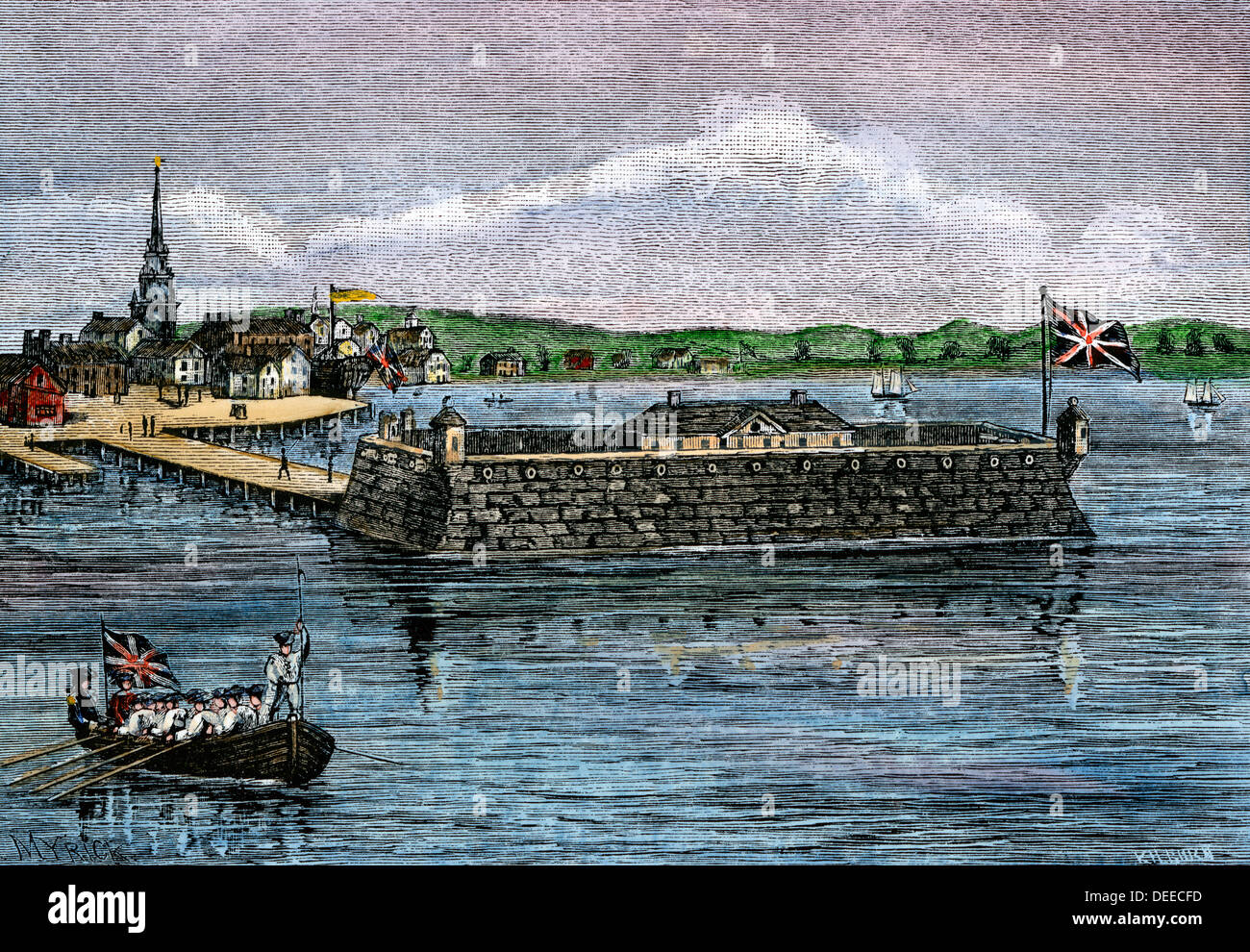 Image result for 1700's charleston harbor picture