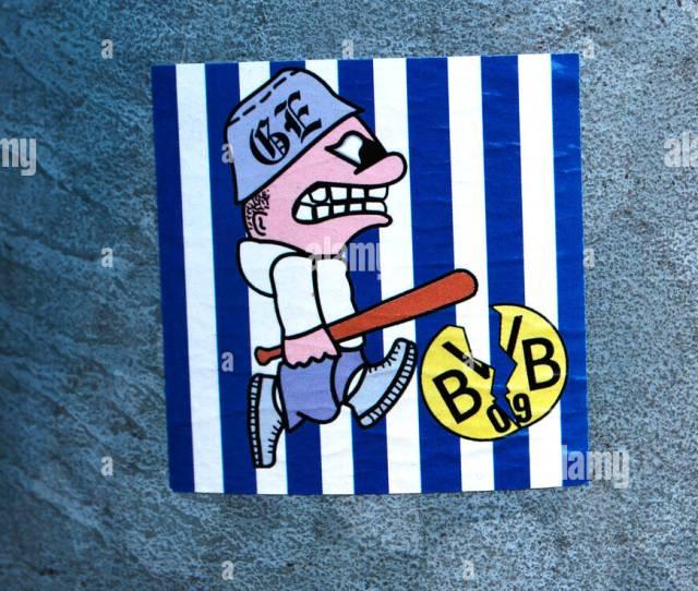 Sticker On A Lamppost Ultras Gelsenkirchen Soccer Fan Club Fc Schalke 04 Soccer Club Gelsenkirchen Ruhr Area