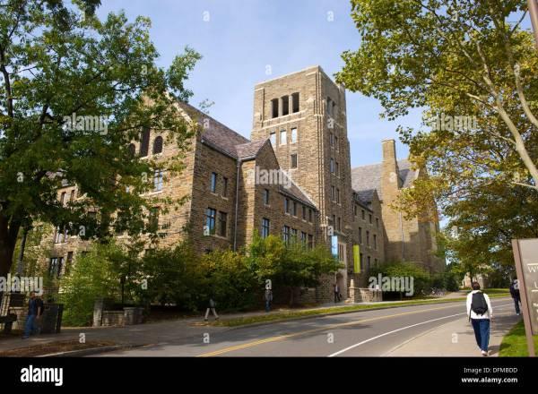 Law School Cornell University Campus Ithaca New York ...