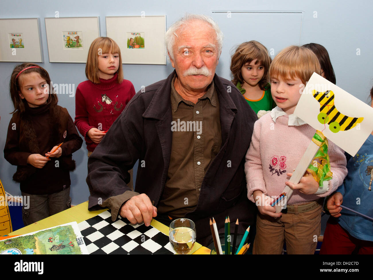 The Illustrator Children S Book Author And Writer Janosch