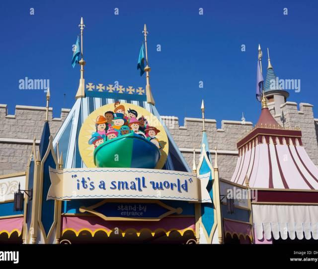 Its A Small World Its A Small World Magic Kingdom Disney