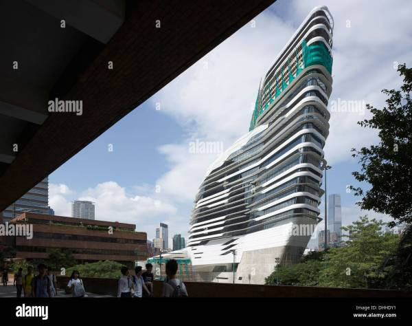 Innovation Tower, Kowloon, Hong Kong. Architect: Zaha ...