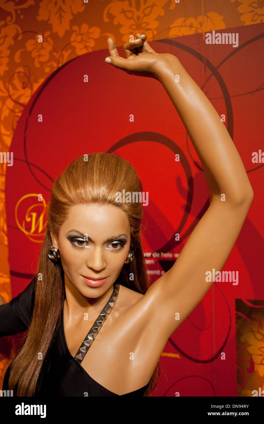 https www alamy com beyonce wax figure in the madame tussauds amsterdam holland the netherlands image64740255 html